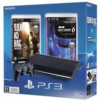 PS 3 12Gb + 2 игры